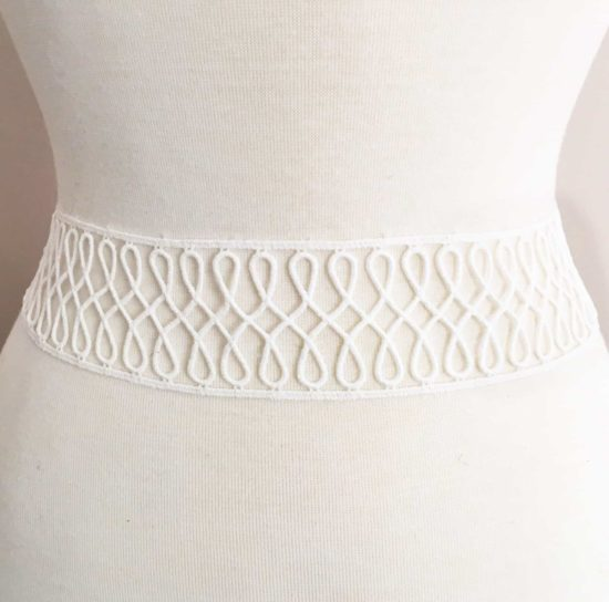 Swirls Lace Border Trim