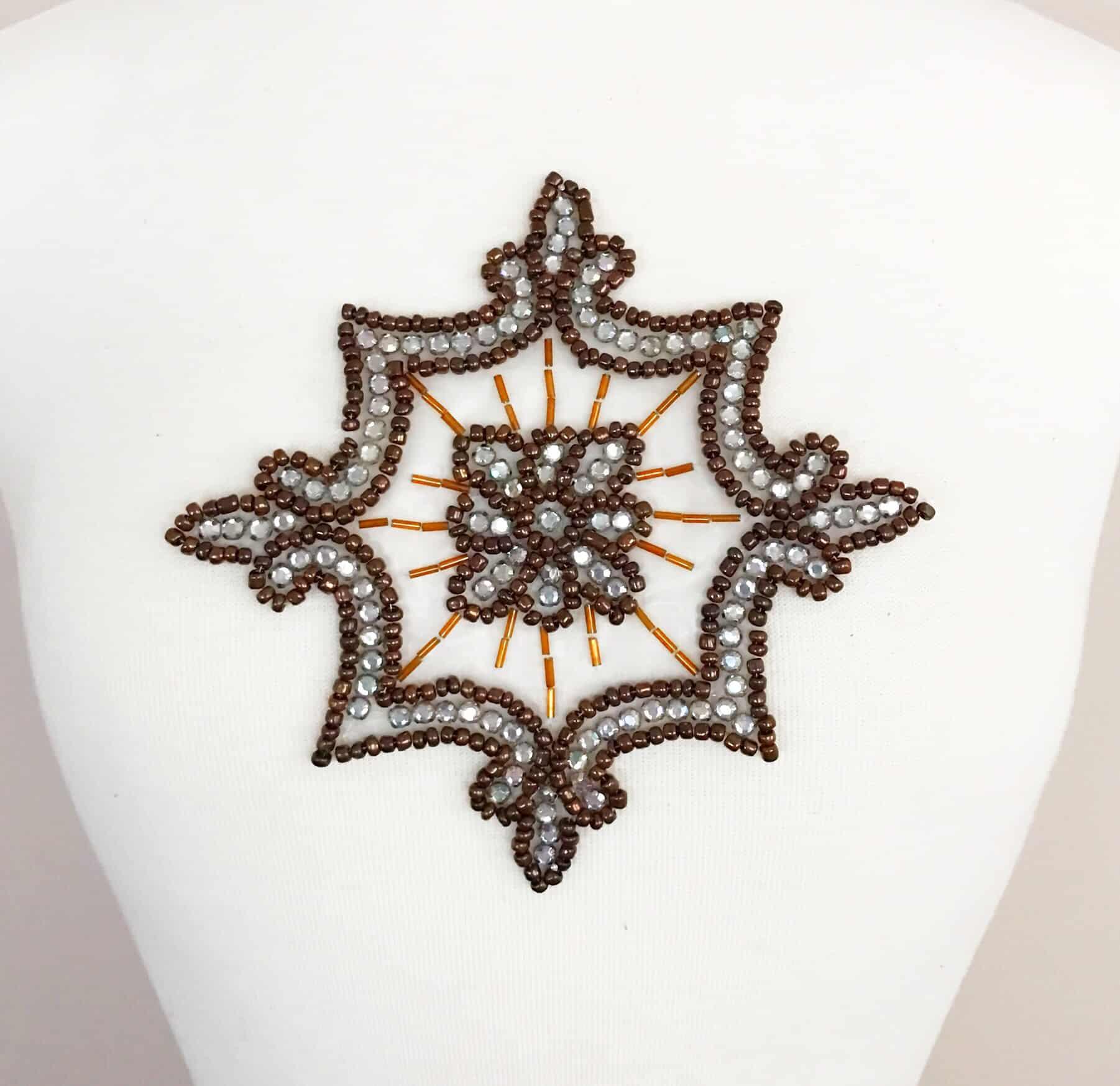 Bronze Emblem Applique (Iron-On)