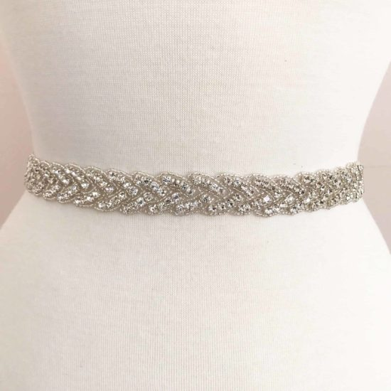 *SALE* Braid Rhinestone Beaded Trim