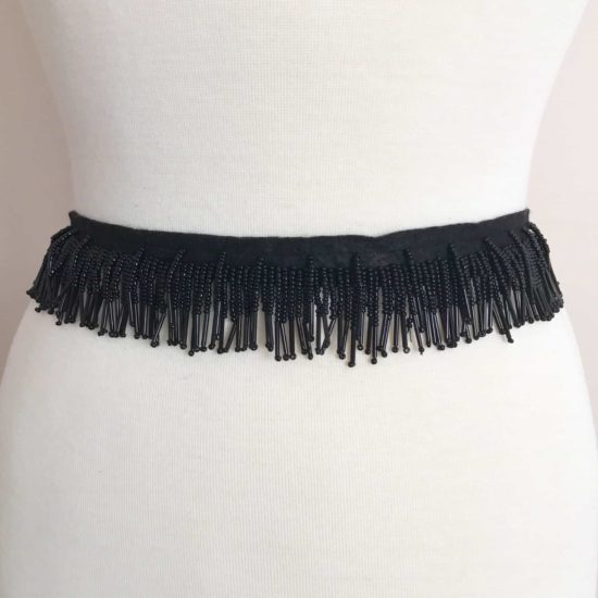 "1.25"" Extra Dense Straight Beaded Fringe"