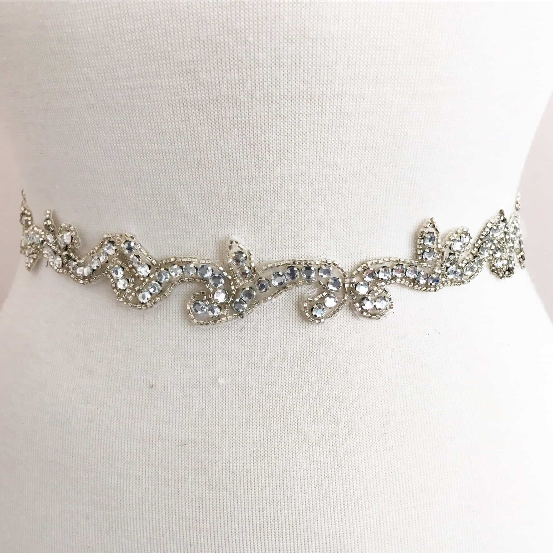 *SALE* Jacinda Rhinestone Beaded Trim
