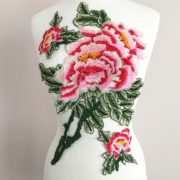 Superbloom Floral Embroidered Applique