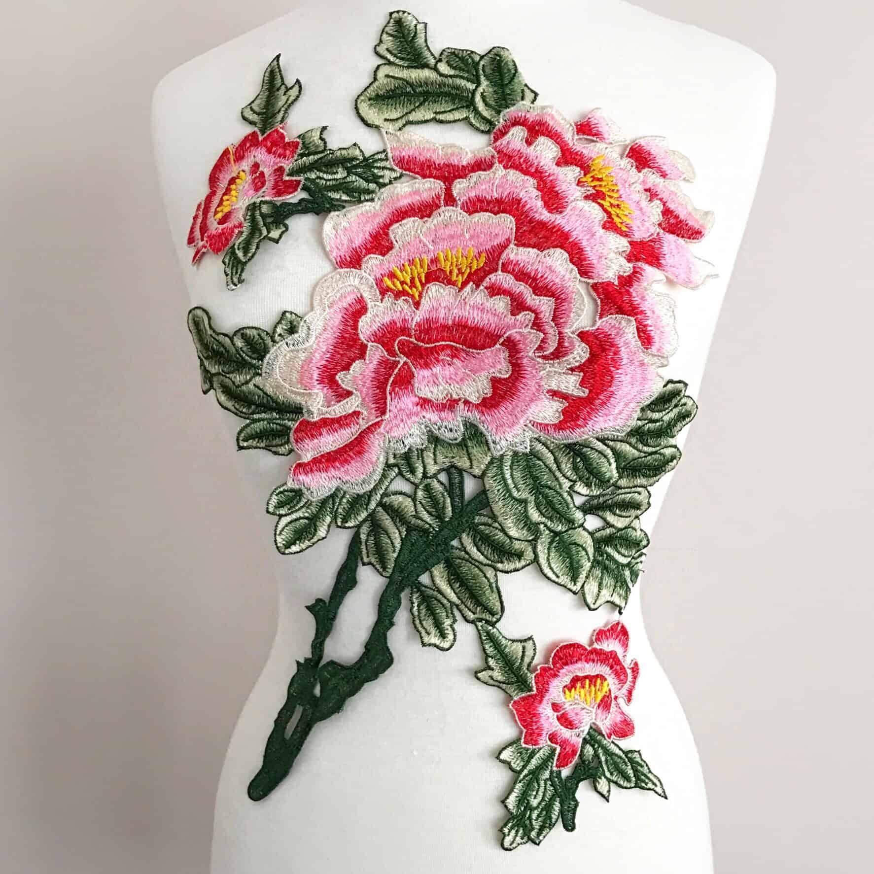 Superbloom Floral Embroidered Applique