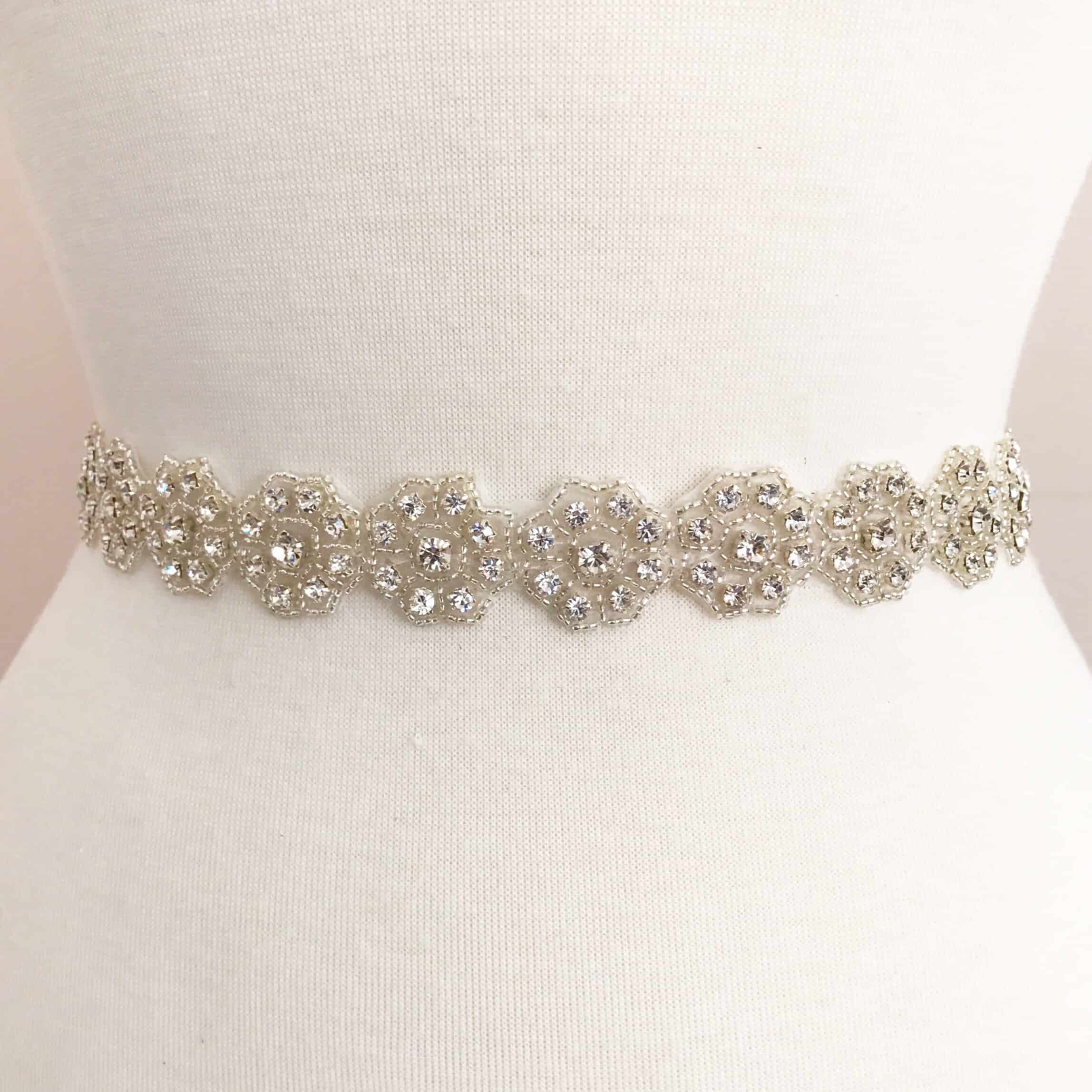 *SALE* Petit Rhinestone Flower Trim