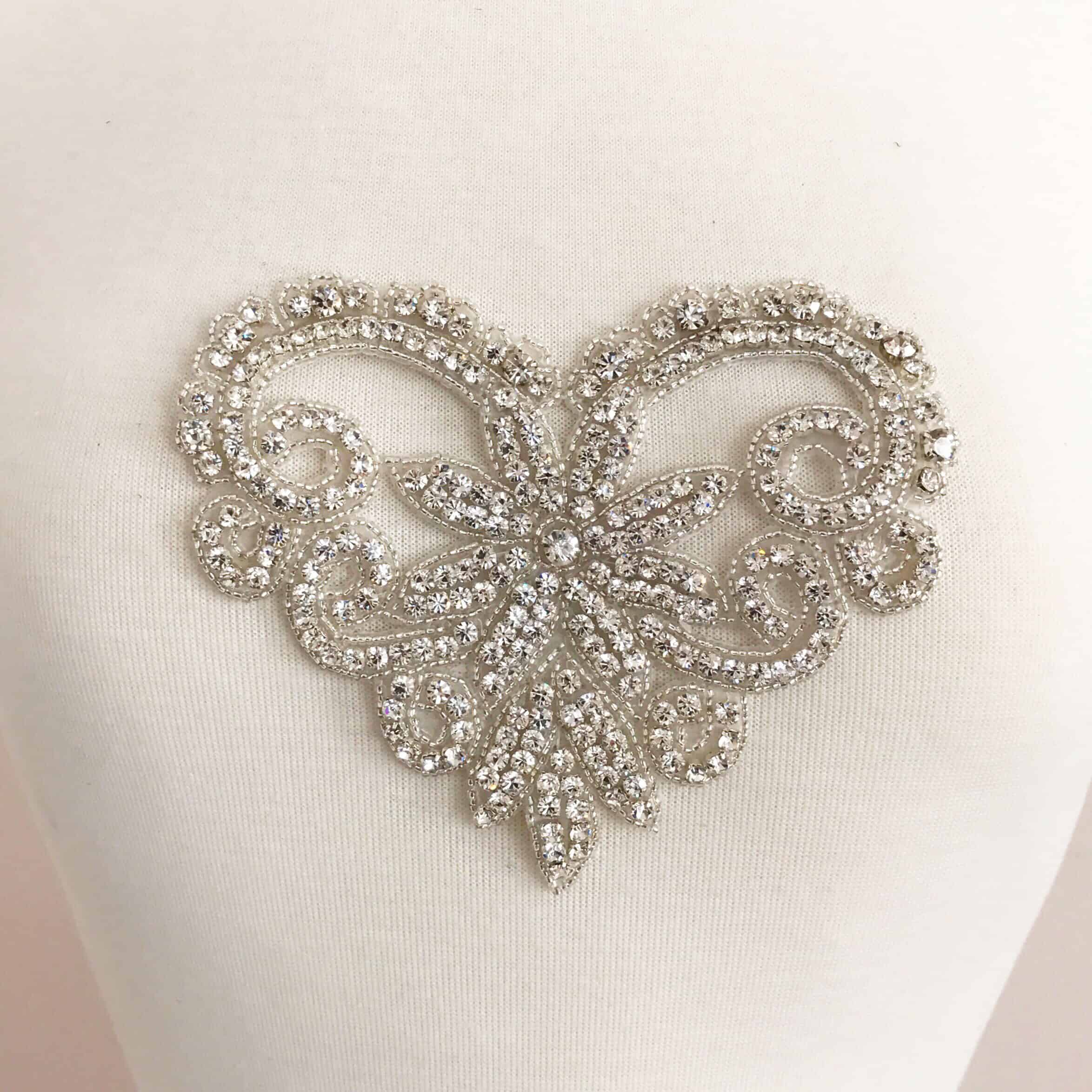 Rhinestone Sweetheart Applique