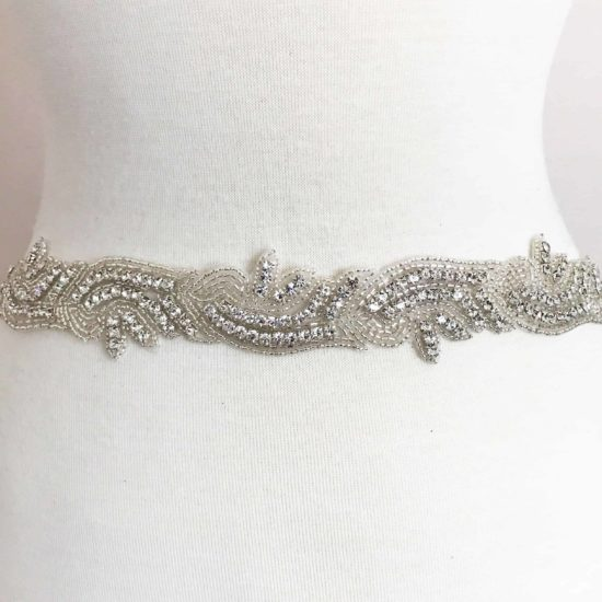Jules Rhinestone Beaded Trim