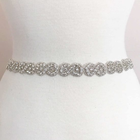 *SALE* Infinity Rhinestone Beaded Trim
