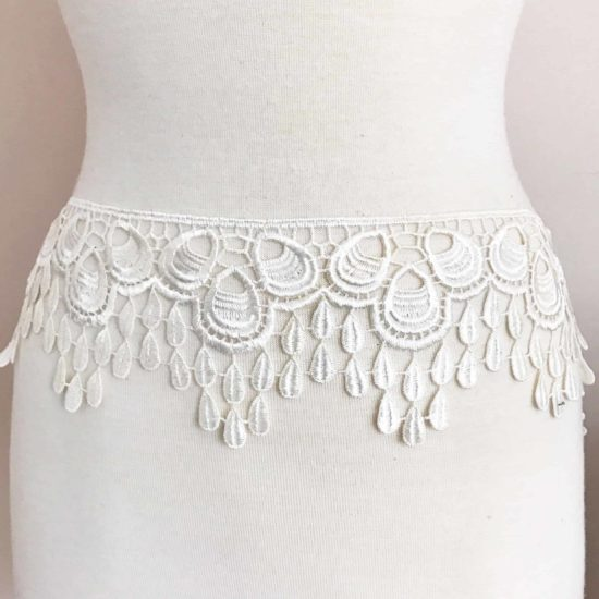 Drop Leaf Lace Trim
