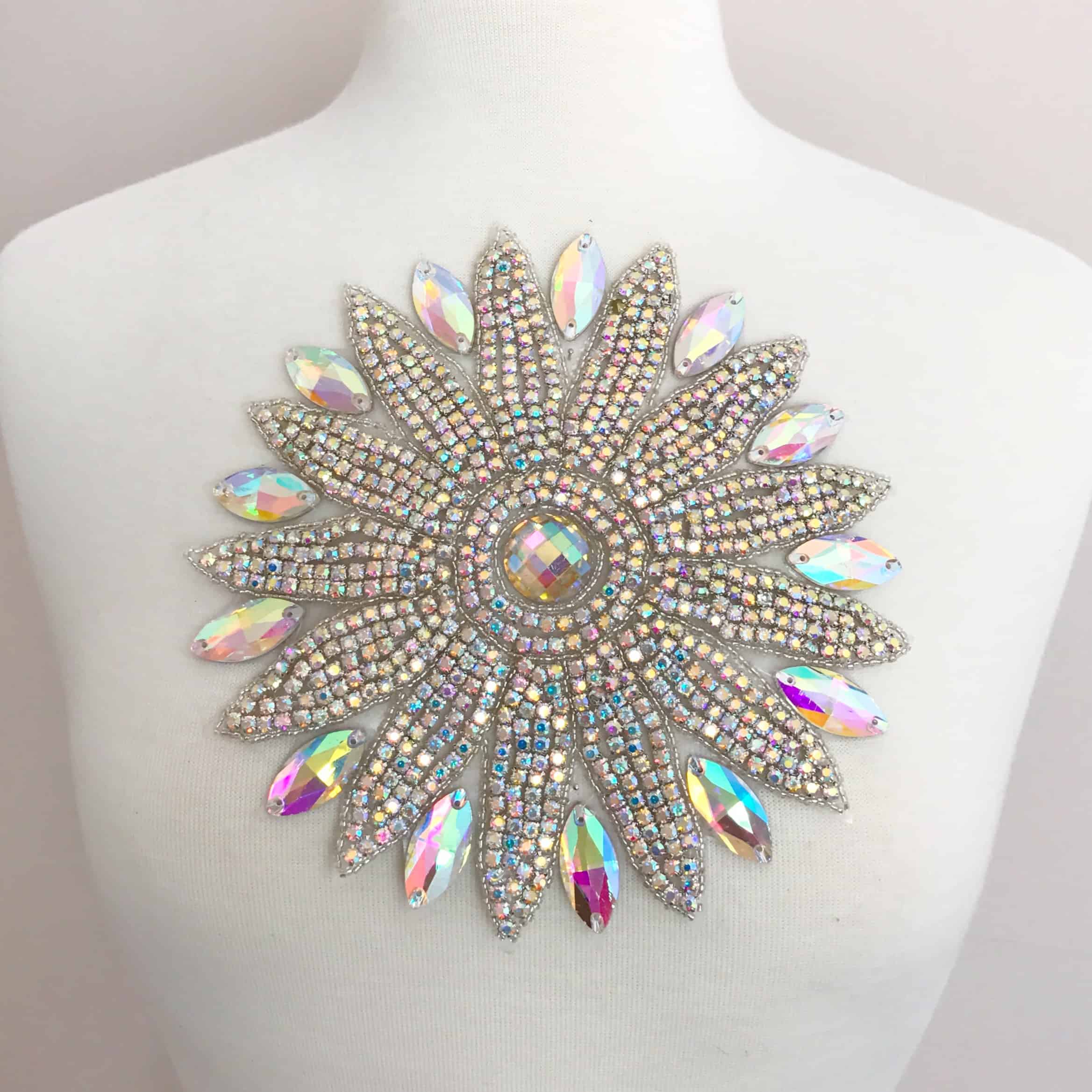 Starfire Rhinestone Applique (Iron-On)