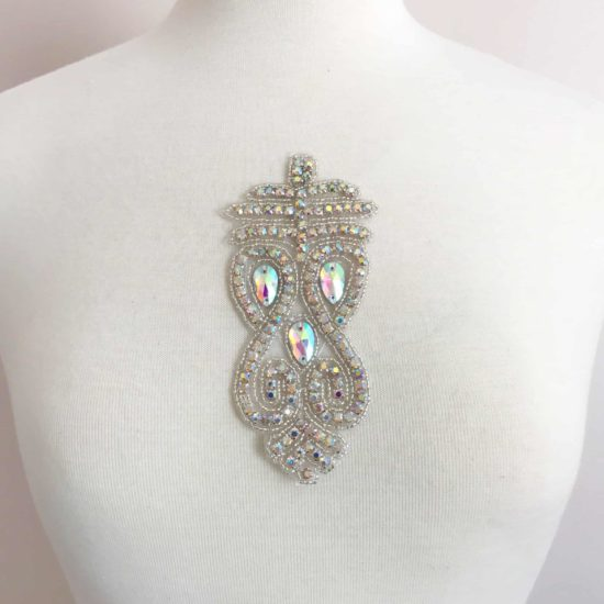 Azta Rhinestone Applique (Iron-On)