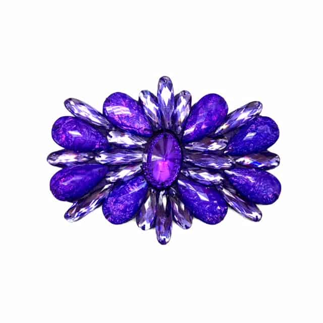 Calypso Acrylic Jewel Patch