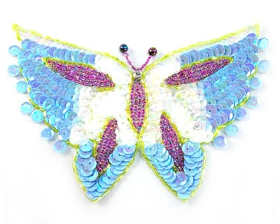 Large Grace Butterfly Applique