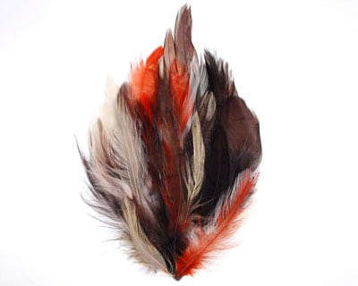 Multicolor Hackle Pad