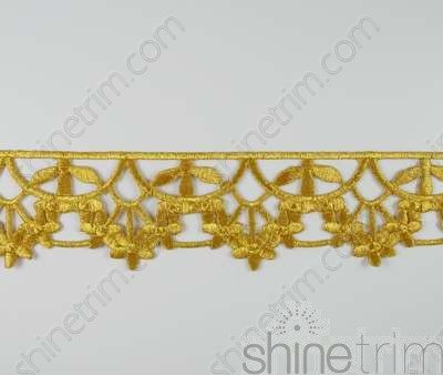 Embroidered Border Trim