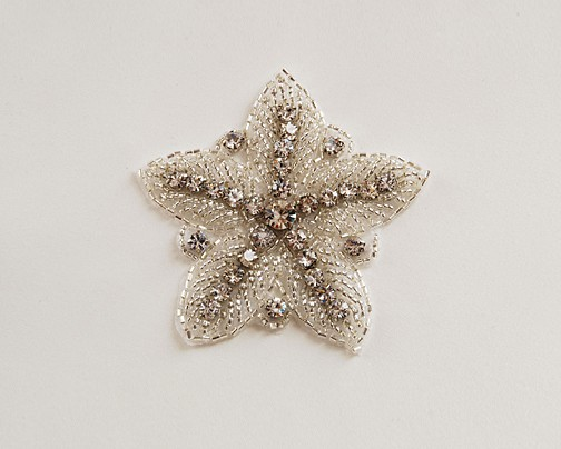 Beaded Rhinestone Starfish