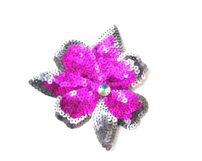 Abstract Sequin Flower 3