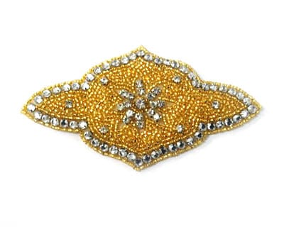 Crest Rhinestone Applique