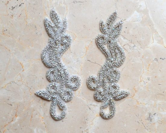 Chloe Matching Rhinestone Applique