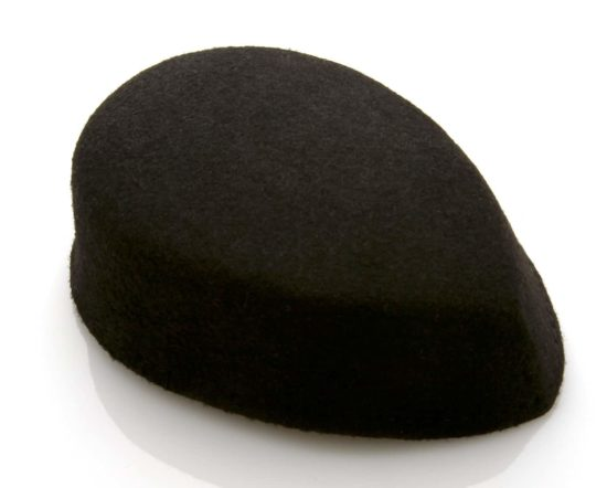 Felt Wedge Pillbox Hat