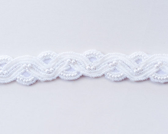 Beaded Pearl Cord Trim