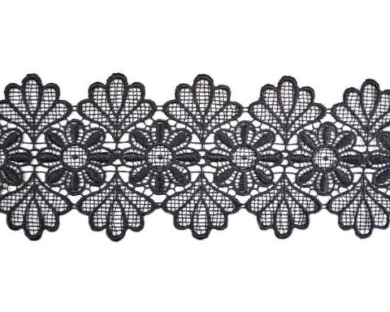 """4"""" Floral Venise Lace"""