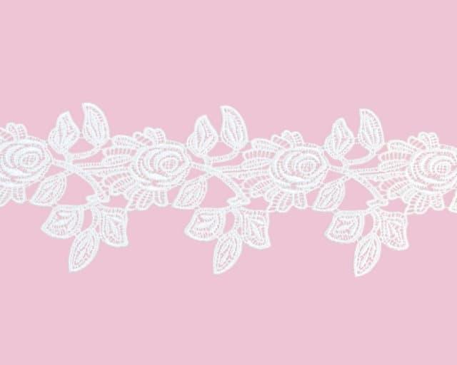 """3.75"""" Rose Venise Lace"""