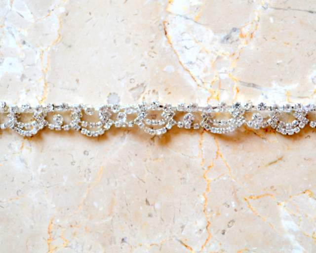 Josette Rhinestone Chain