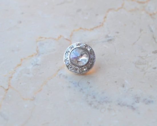 Small Elegant Rhinestone Button
