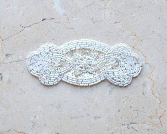 Beaded Art Deco Emblem