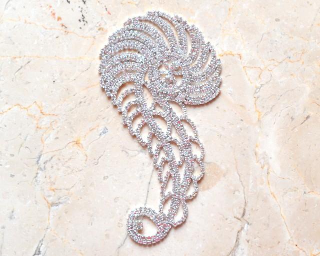Clef Rhinestone Ornament