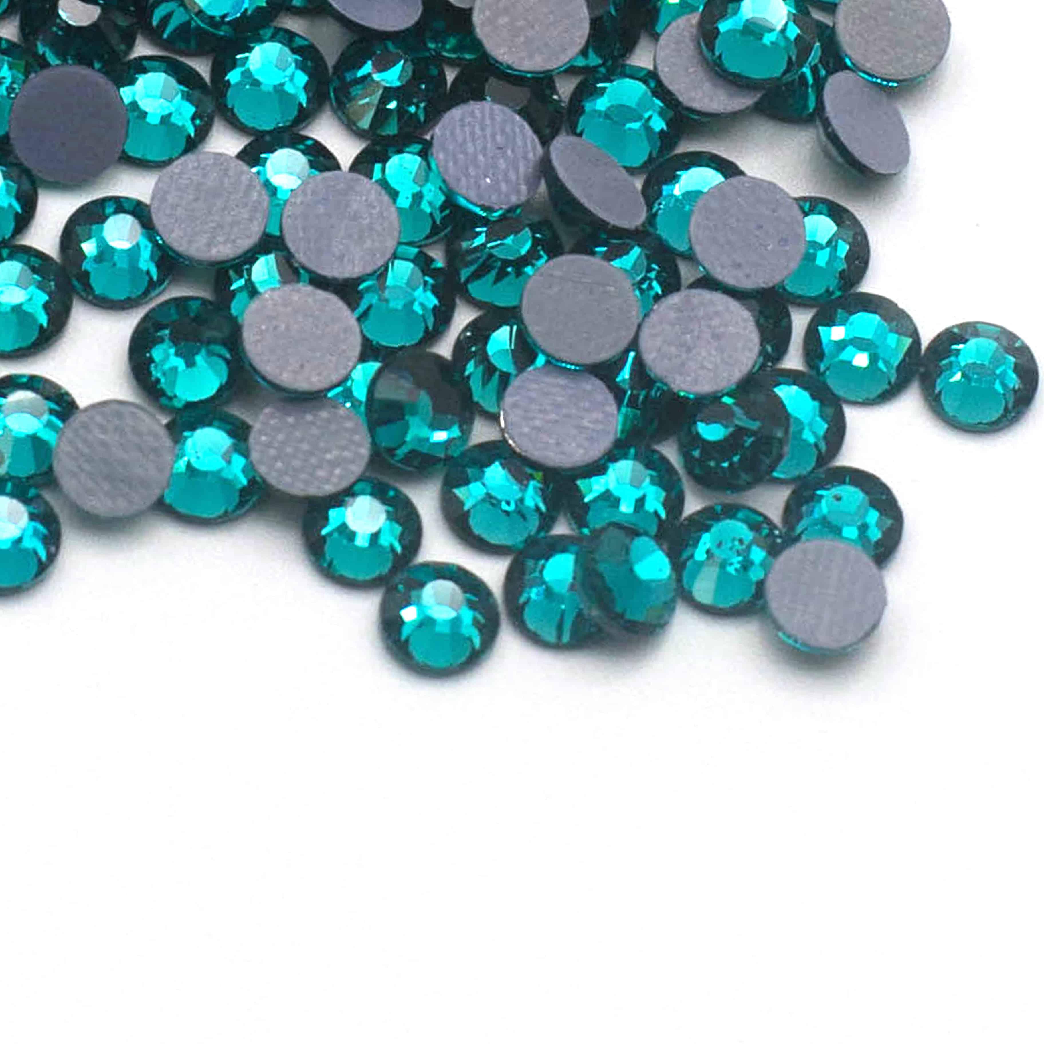 15f986b217 Premium Hotfix Rhinestones (Blue Zircon) SS16,SS20,SS30